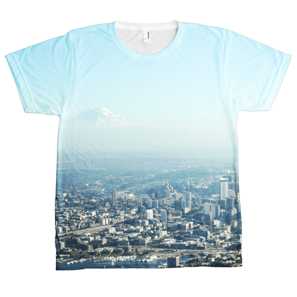 Seattle Skyline T-Shirt (Men's) Crisis Clothing