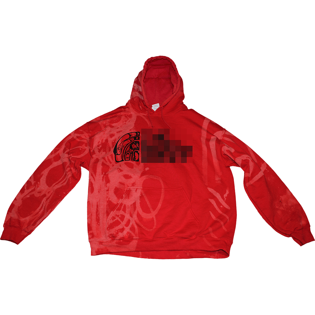 THE NORTH WEST X WOLFDELUX Pull Up Hoodie - Native - The North West Clothing