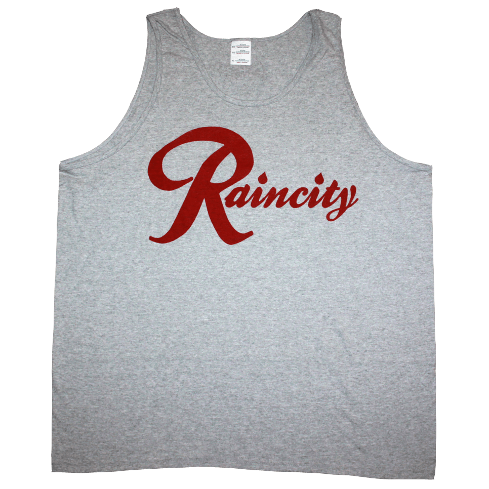 Raincity Tank (Men's) Concrete/Red - The North West Clothing