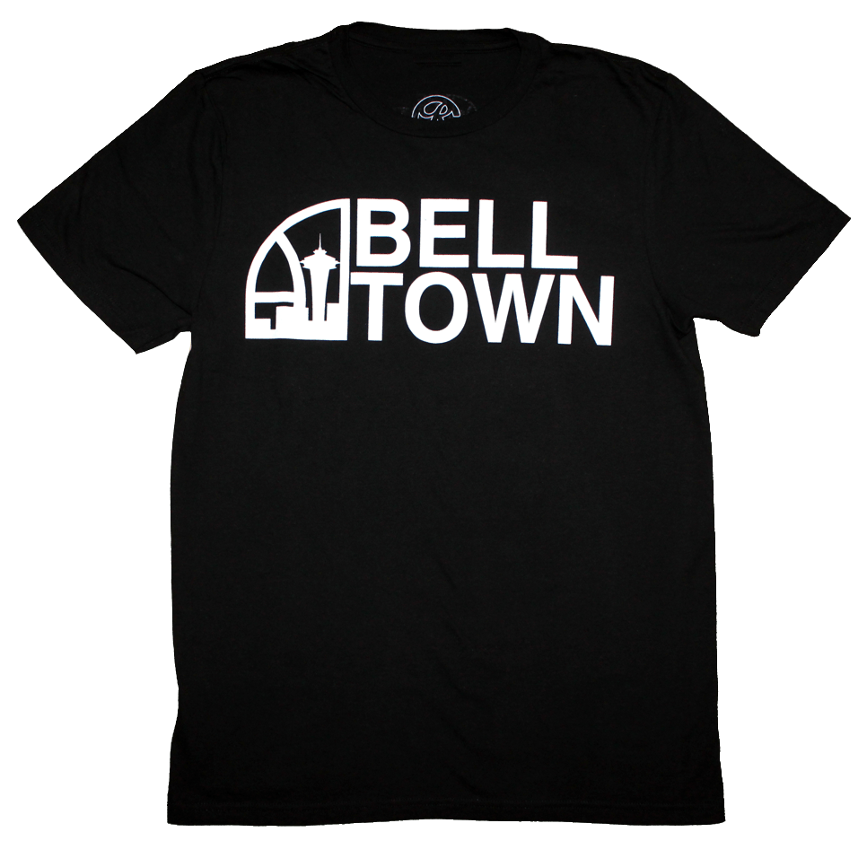 Seattle Super Bell Town T-Shirt (Men's) - The North West Clothing