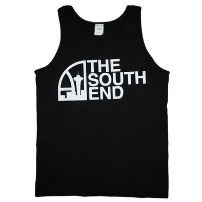 Seattle Super South End Tank (Men's) Black/White - Crisis Clothing