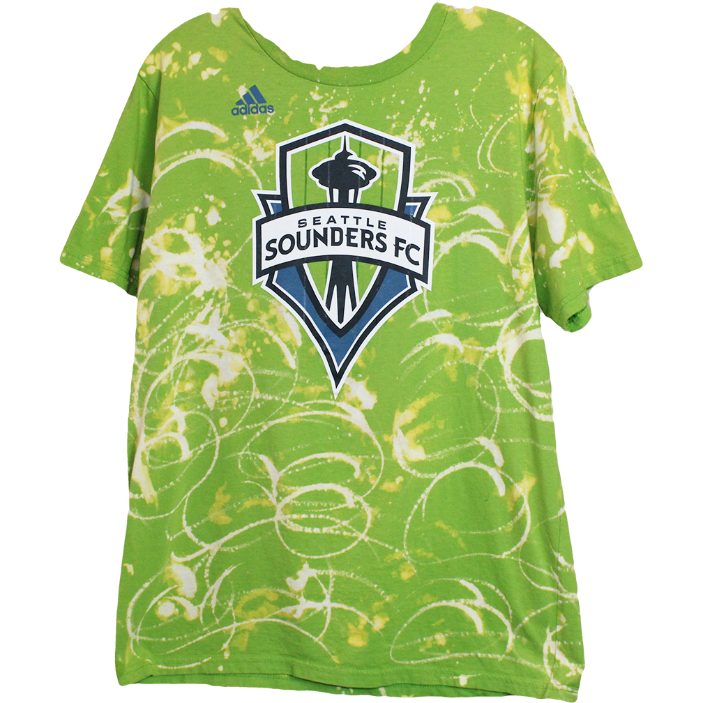 Wolfdelux Seattle Soccer FC T-Shirt, Men's Medium - The North West Clothing