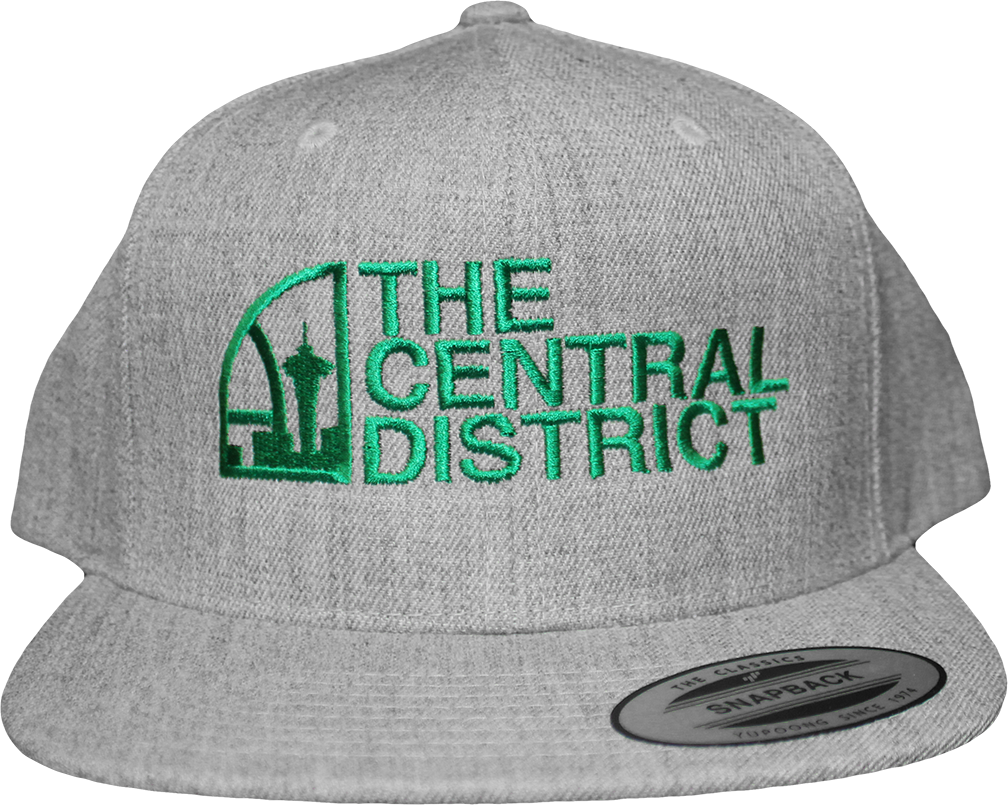 The Central District CD Snapback - The North West Clothing