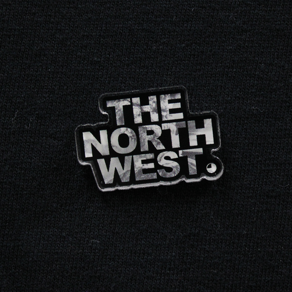"The North West - Mt. Saint Helens Eruption 1.25"" x 0.875"" Pin - The North West Clothing"