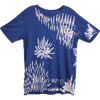Wolfdelux Slim Fit Blue T-Shirt - Floral - Medium