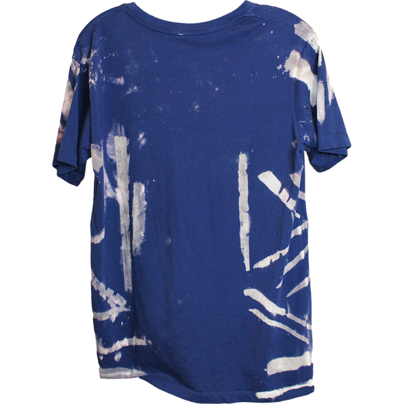 Wolfdelux Slim Fit Blue T-Shirt C - Small