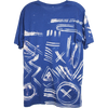 Wolfdelux Slim Fit Blue T-Shirt E - Small