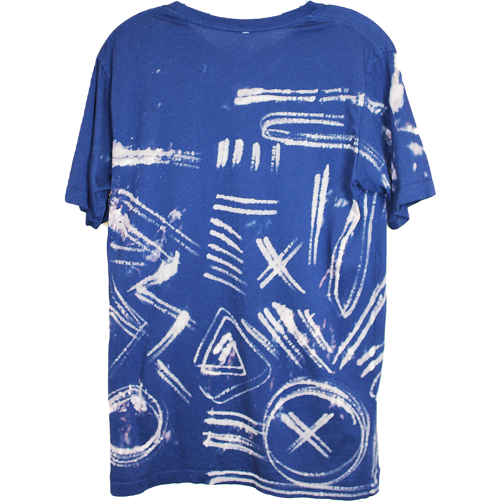 Wolfdelux Slim Fit Blue T-Shirt E - Small - The North West Clothing