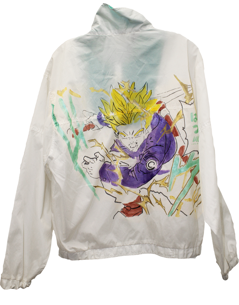 Wolfdelux Windbreaker - Saiyan - The North West Clothing
