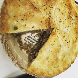 Traditional Tourtière
