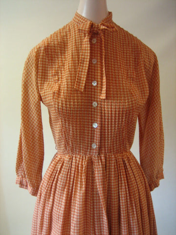 1950s Anne Fogarty Shirt Dress