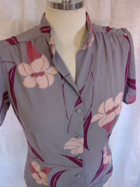 1970s Lily Flutter Blouse