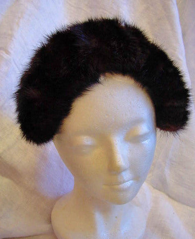 1950s Mink Crown Hat