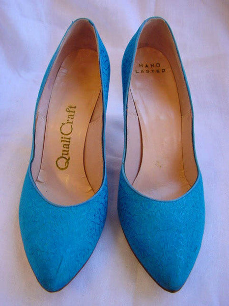 1950s Aqua QualiCraft Shoes