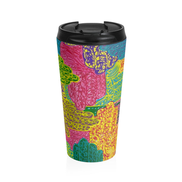 Talk to the Hand Stainless Steel Travel Mug