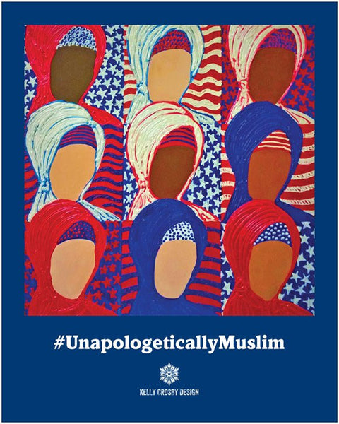 Unapologetically Muslim Poster 16 x 20 inches
