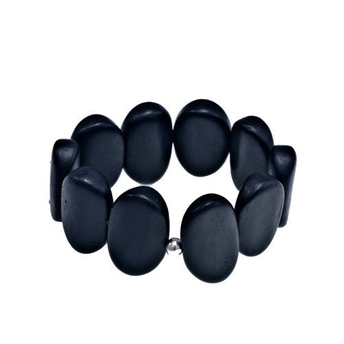 'Met' Stretch Bracelet - Polka Luka Resin Jewellery