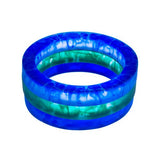 'MoMA' Resin Bangle- Triple Set