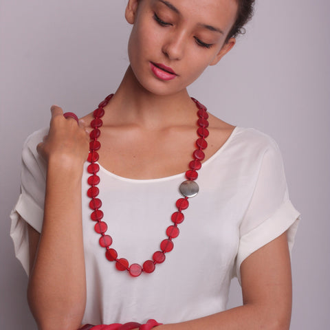 Jacobsen Necklace - Polka Luka Resin Jewellery