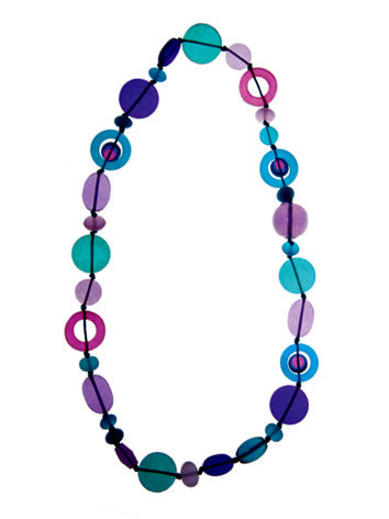 Lolly Shoppe' Resin Bead Necklace - Polka Luka Resin Jewellery