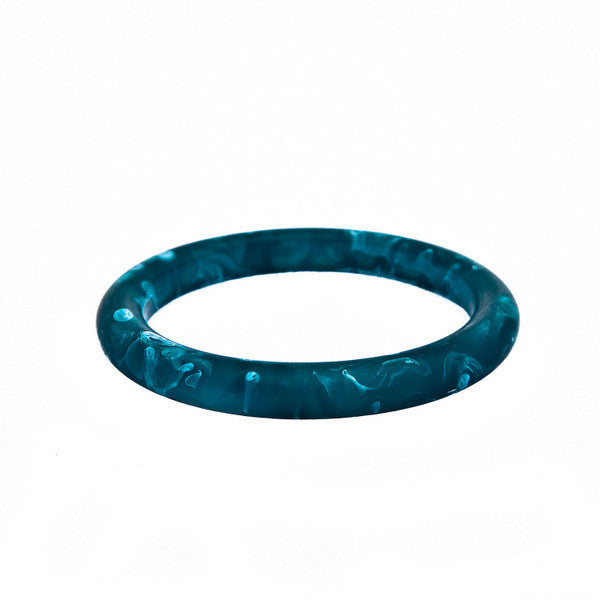 'Dusk' Single Resin Bangle - Polka Luka Resin Jewellery