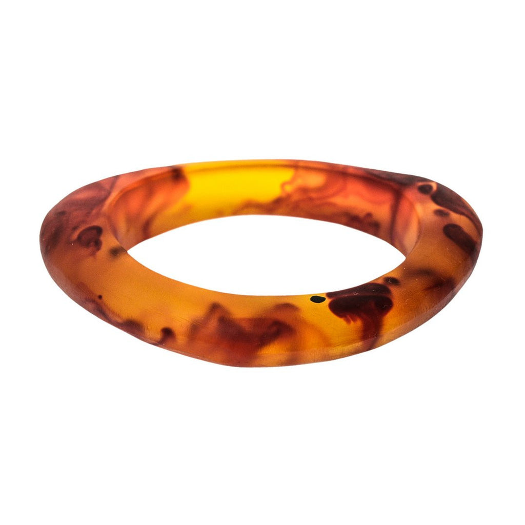 'Eclipse' Resin Bangle - Polka Luka Resin Jewellery