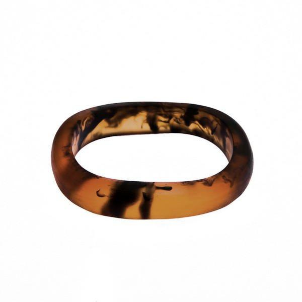 'Flores' Resin Bangle - Polka Luka Resin Jewellery