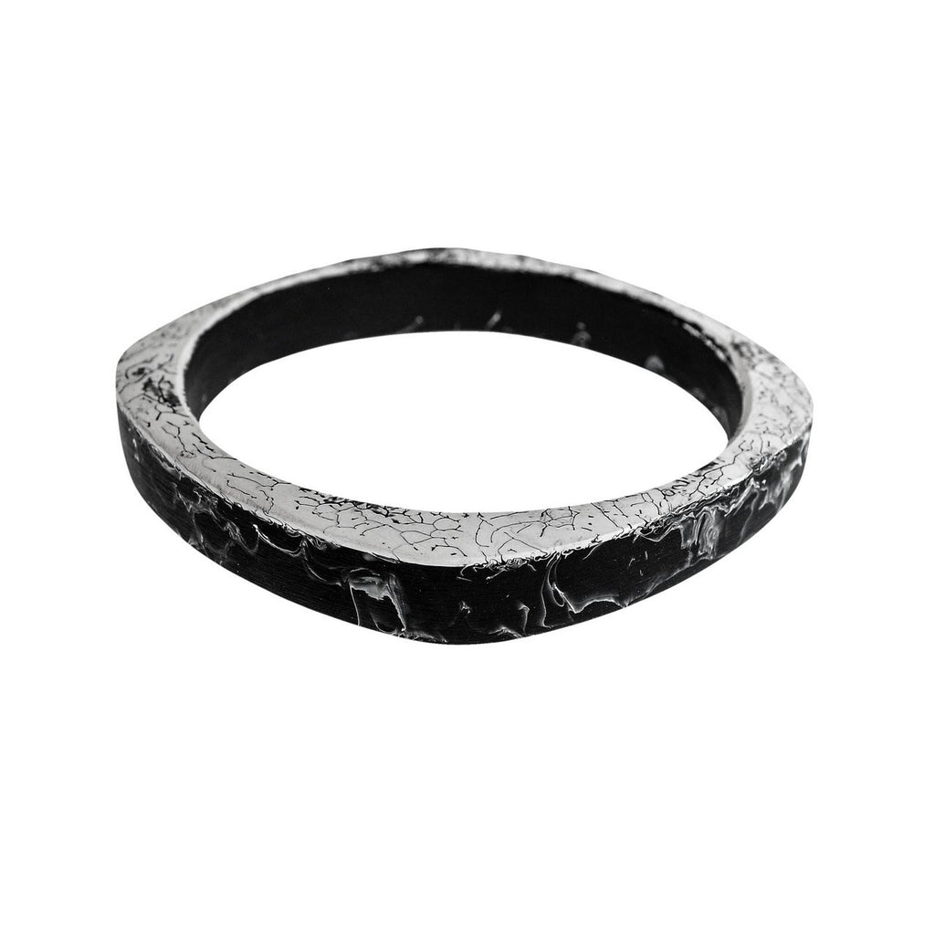 'Interstellar' Single Bangle - Polka Luka Resin Jewellery
