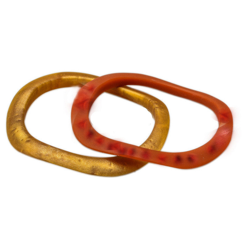 Karumi' Resin Double Bangle
