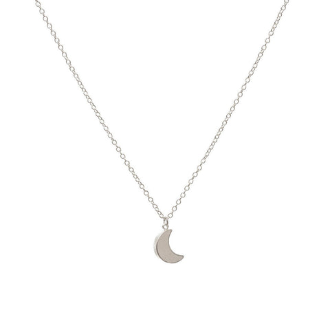 'Crescent Moon' necklace - Polka Luka Resin Jewellery