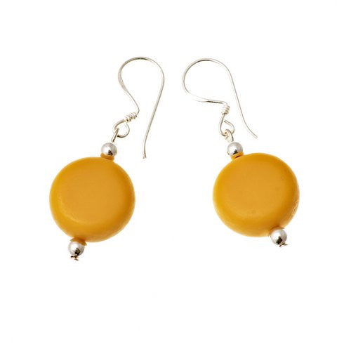 'Manhattan' Drop Resin Earrings - Polka Luka Resin Jewellery