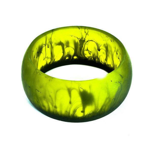 'Mekong' Resin Bangle - Polka Luka Resin Jewellery