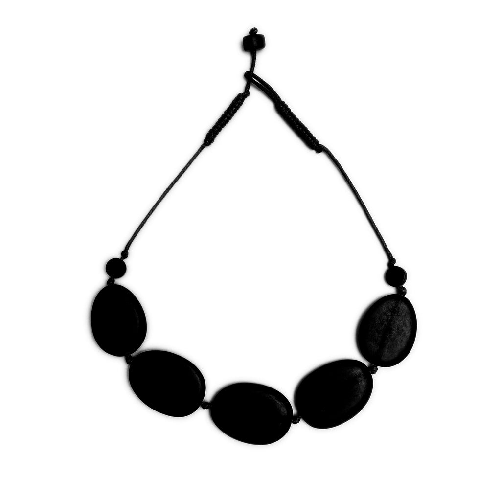 Deep Pools Necklace - Polka Luka Resin Jewellery