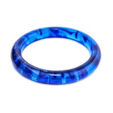 Aura Resin Bangle- Polished Finish - Polka Luka Resin Jewellery