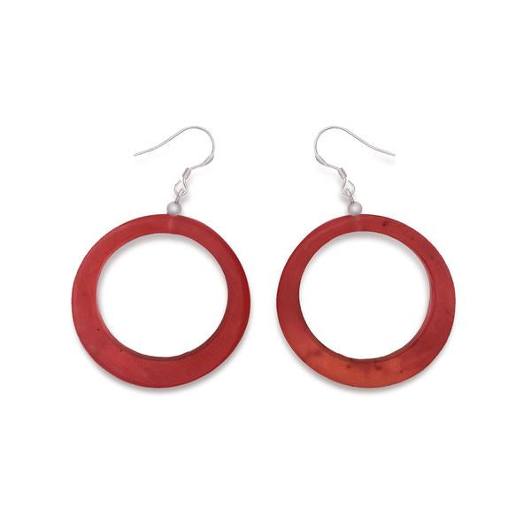 Caravana Large Earrings - Polka Luka Resin Jewellery