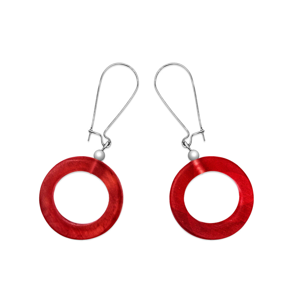Caravana Small Earrings - Polka Luka Resin Jewellery