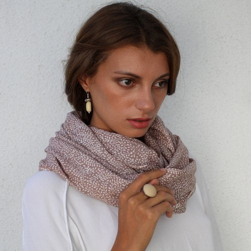 The 'Adele' Scarf - Polka Luka Resin Jewellery