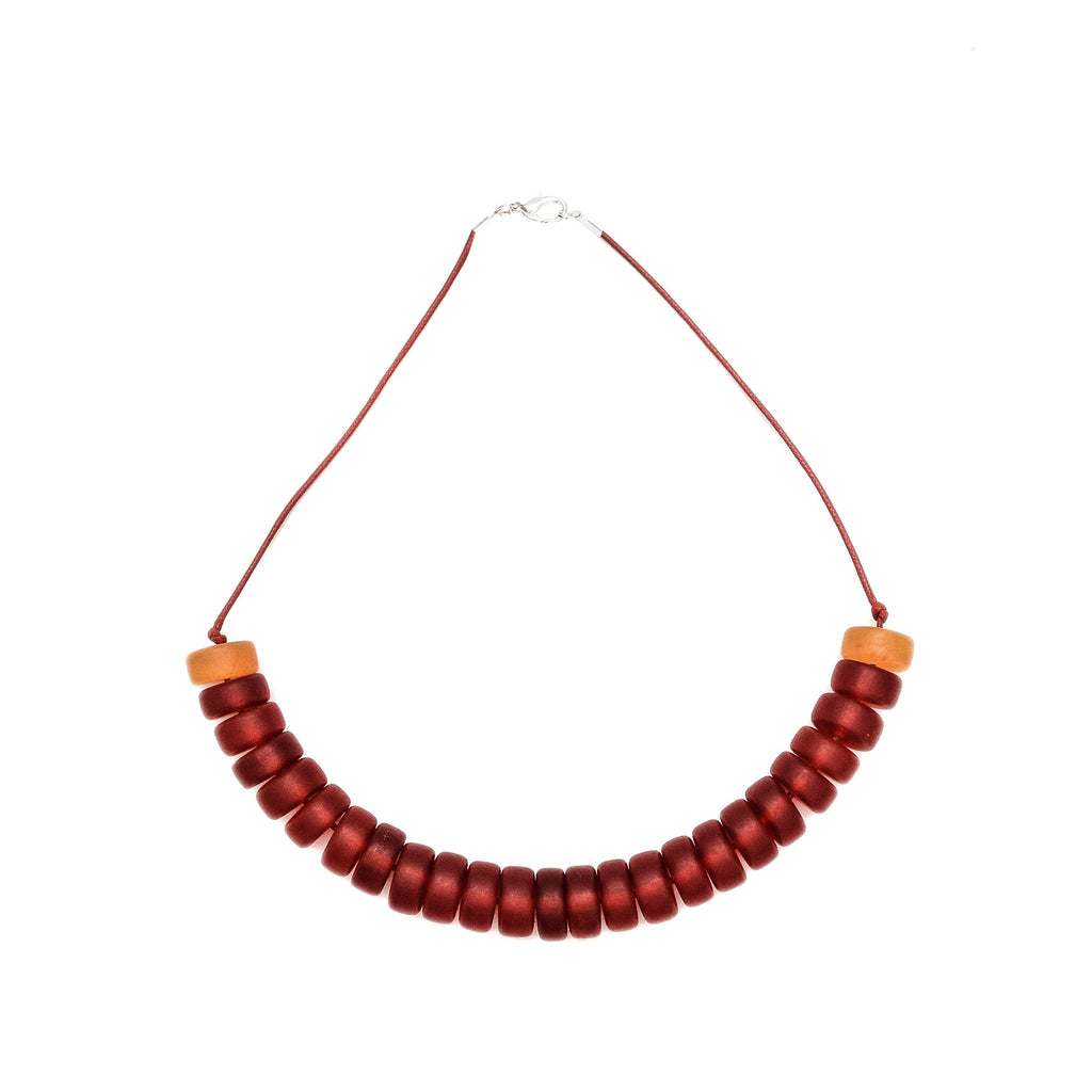Paxos Resin Necklace - Polka Luka Resin Jewellery
