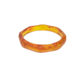 Silk Road Single Resin Bangle - Polka Luka Resin Jewellery