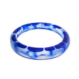 Thalassa Resin Bangle - Polka Luka Resin Jewellery