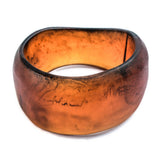Island Resin Bangle - Polka Luka Resin Jewellery