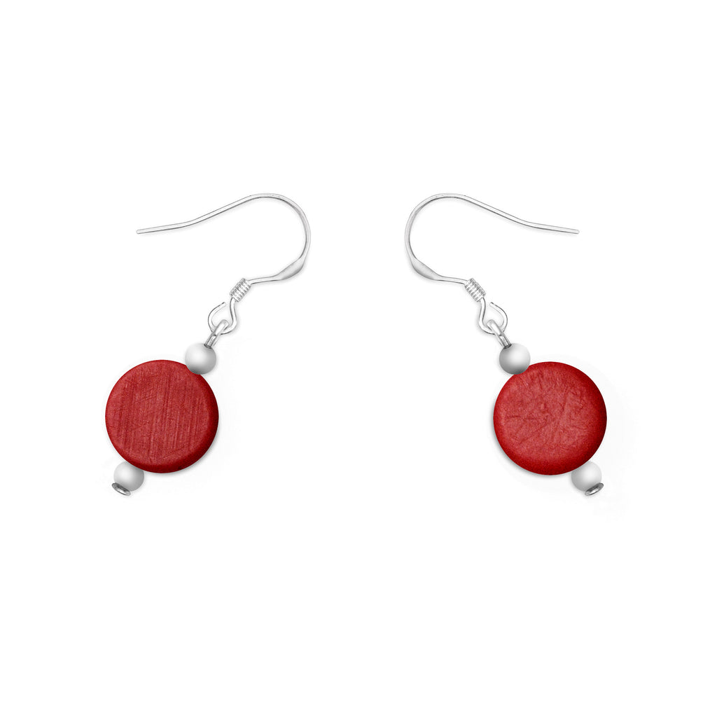 Silk Road Single Earrings - Polka Luka Resin Jewellery