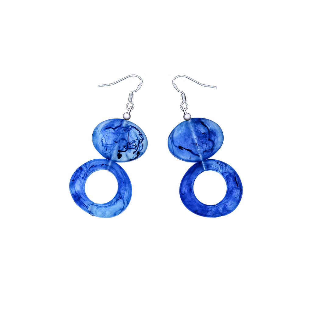 Tropicana Resin Earrings