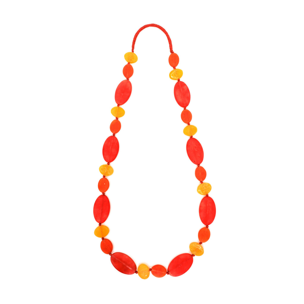Frida Long Combination Necklace - Polka Luka Resin Jewellery