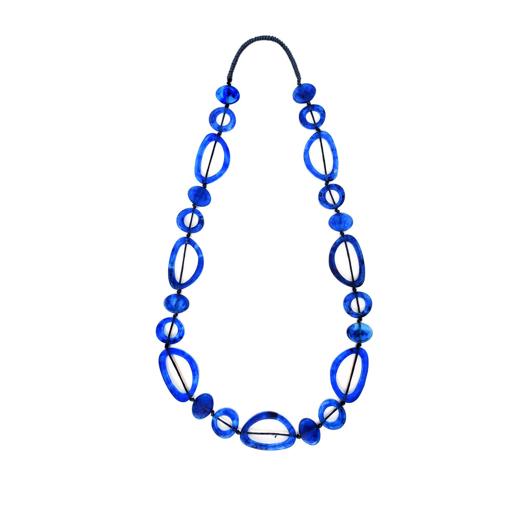 Havana Long Resin Necklace - Polka Luka Resin Jewellery