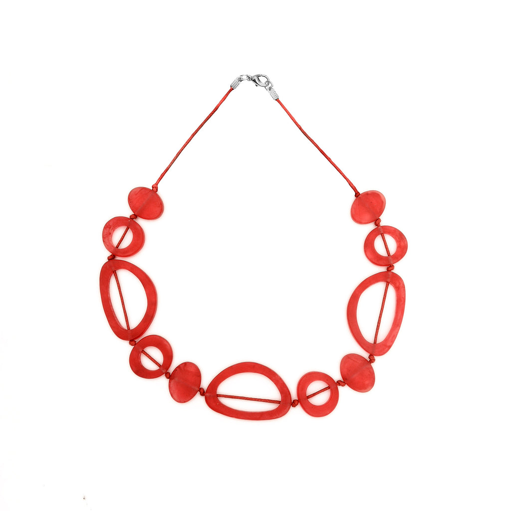 Havana Short Necklace - Polka Luka Resin Jewellery