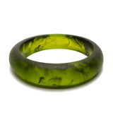 'Hinterland' Bangle - Polka Luka Resin Jewellery