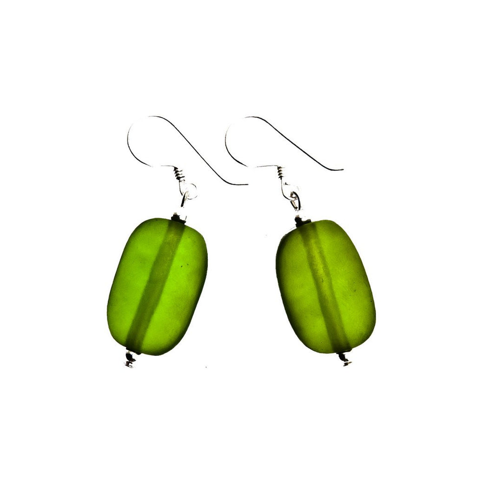 'Hanoi' Resin Earrings - Polka Luka Resin Jewellery