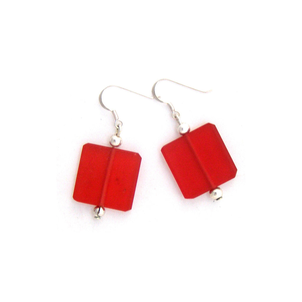 'Minimalist' Resin Earrings - Polka Luka Resin Jewellery
