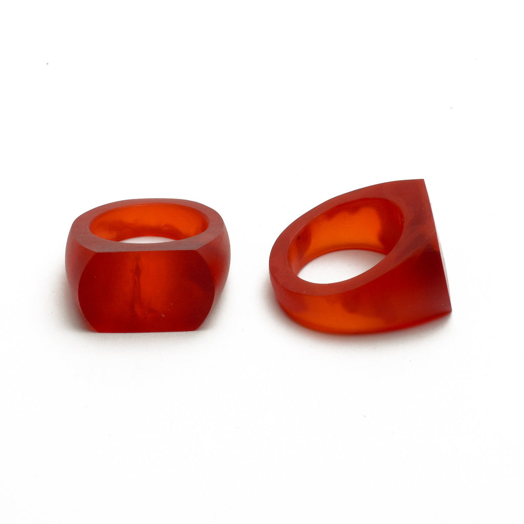 Hidden Grove' Ring - Polka Luka Resin Jewellery